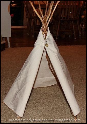 making a teepee 014
